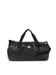 Adidas Unisex Black Duffel Bag