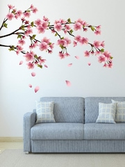 DeStudio Multicoloured Sakura Blossom Japanese Cherry Tree Wall Sticker