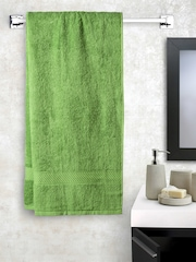 Trident Green Cotton 380 GSM Bath Towel