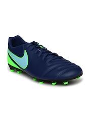 Nike Men TIEMPO RIO III Navy Blue Football Shoes