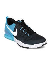 Nike Men Black Zoom Train Action Colourblocked Training Shoes