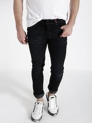 Ecko Unltd Men Black Super Slim Fit Mid Rise Clean Look Jeans