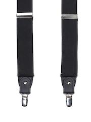Alvaro Castagnino Men Black Suspenders