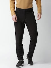 The North Face Men Black Solid Asian Fit Trousers