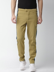 The North Face Men Khaki Solid Asian Fit Trousers