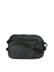 The North Face Unisex Black Checked Travel Bag