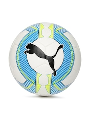 PUMA White & Blue evoPOWER 5.3 Hardground Soccer Ball