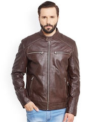 Justanned Brown Leather Jacket