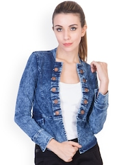 ANTS Blue Washed Denim Jacket