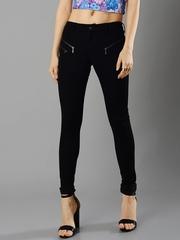FabAlley Masaba Women Black Skinny Fit Mid-Rise Clean Look Jeans