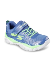 Skechers Boys Blue Electronz Blazar Sneakers