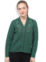 Duke Green Patterned Cardigan