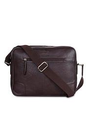 Justanned Brown Messenger Bag