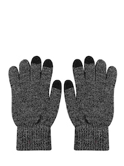 FOREVER 21 Unisex Charcoal Grey Gloves