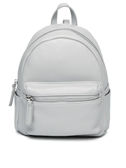 FOREVER 21 Women Women Light Grey Backpack