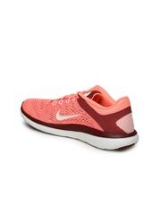 Nike Women Pink Flex 2016 RN Running Shoes
