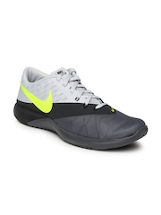 Nike Men Grey FS Lite Colourblocked Trainer 4 Training Shoes
