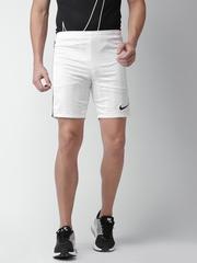 Nike Men White AS M ACDMY JAQ K Regular Fit Sports Shorts