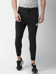 Nike Charcoal Grey AS M NSW AV15 JGGR KNIT Slim Fit Track Pants