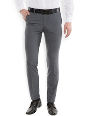 Black coffee Grey Formal Trousers