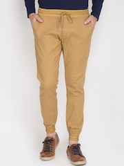 LOCOMOTIVE Khaki Jogger Trousers