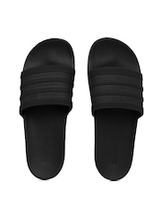 Adidas Men Black Adilette CF+ Mono Flip-Flops