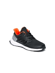 Adidas Kids Black Rapidarun K Running Shoes