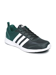 Adidas Men Charcoal Grey & Green Astrolite M Running Shoes