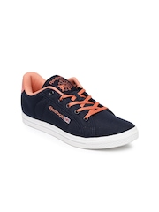 Reebok Women Navy Court LP Sneakers