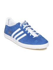 Adidas Originals Men Blue Gazelle OG Casual Shoes