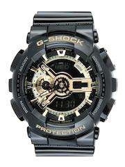 CASIO Men G-shock Black Analogue & Digital Watch G339