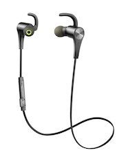 SoundPEATS Black Q12 Bluetooth 4.1 Wireless Magnetic In-Ear Earphones with Mic