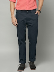 Marks & Spencer Navy Slim Fit Chino Trousers