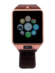 Zakk Unisex Brown Sim Card Slot Smart Watch