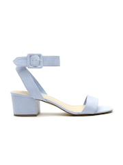 FOREVER 21 Women Blue Solid Heels