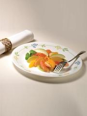 Corelle White Set of 21 Printed Glass Dinner Set