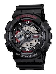 Casio G-Shock Men Black Analogue-Digital Watches (G316) GA-110-1ADR