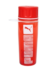 Puma Unisex Red Water Bottle