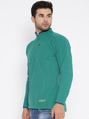 Wildcraft Men Teal Green Sweatshirt