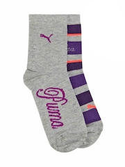Puma Women Pack of 2 Grey Socks