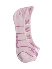 Puma Women Pack of 2 Mauve Socks