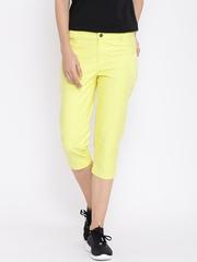 PUMA Yellow Capris