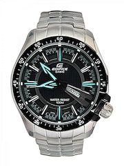Casio Edifice Men Silver Analogue Watches (ED417) EF-130D-1A2VDF