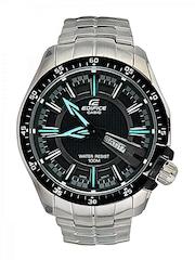 CASIO Men Black Dial Watch ED417