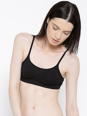 Jockey Black Moulded Cami Bra SS12