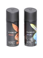 Playboy Men Set of 2 Deodorant Body Sprays