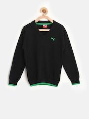 PUMA Boys Black Sweater