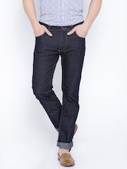 Lee Rinse Navy Blue Slim Fit Jeans