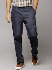 Marks & Spencer Navy Super-Lightweight Chino Trousers