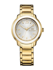 Tommy Hilfiger Women Silver-Toned Dial Watch TH1781421J